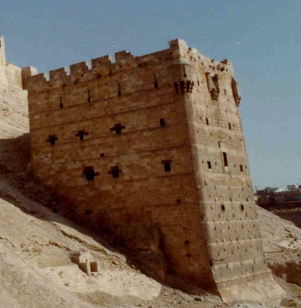 A bastion castle